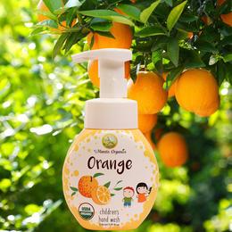 美國原裝進口兒童有機洗手液甜橙味