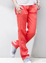 韓國高檔時尚棉麻休閑褲