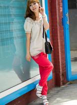 韓國當季流行時尚哈倫褲