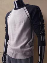 男士經典運動版休閑針織衫